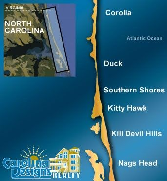 Outerbanks is a great place if you want a nice relaxing vacation we rent through carolina - Summer house plans delight relaxation ...