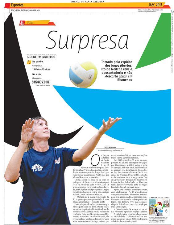 53º Jasc  - Superposter, Edição: Vinicius Dias Reportagem: Everton Siemann Design: Arivaldo Hermes. Foto: Artur Moser