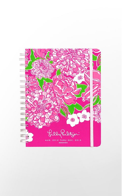 Lilly Pulitzer 2013 Large Agenda - Just what I need for the school year! // #organization #planning