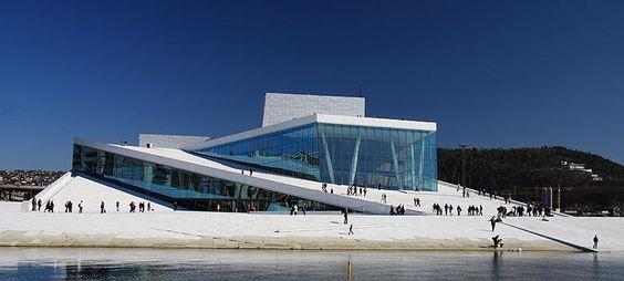 Le nouvel Opéra de Norvège à Oslo - Photo: Bjørn Eirik Østbakken