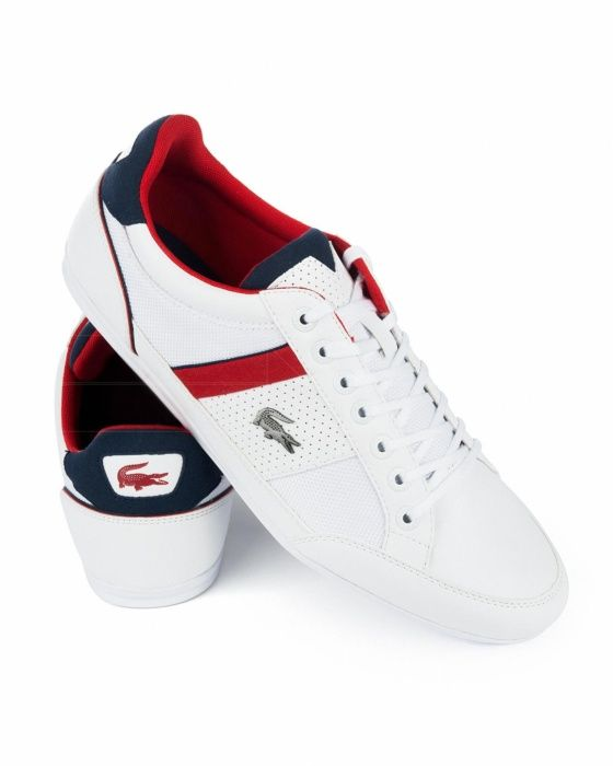 Lacoste C Trainers Chaymon Navy Blue Best Price
