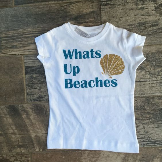 Whats up beaches GLITTER by MerMADEbySiesta on Etsy