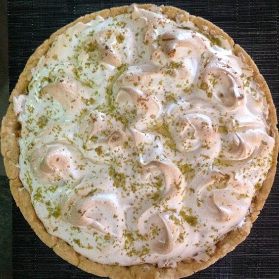 Receita de torta de limão preparada pela minha prima Kika....Divina !!