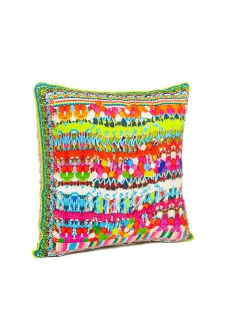 Camilla - Holi small square cushion 45 x 45cm