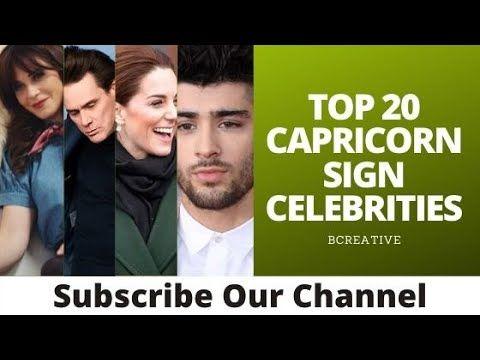 Top 20 Capricorn Sign Celebrities Capricorn Zodiac Sign Celebrities Capricorn Famous People Zodiac Helps Zodiac Capricorn Zodiac Capricorn Capricorn Man