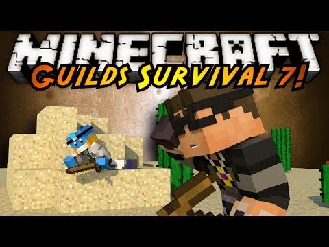 Minecraft Guilds Survival : STARTING OVER!