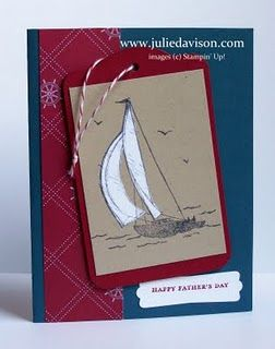 Sail Away Father's Day Card by juls716 - Cards and Paper Crafts at Splitcoaststampers