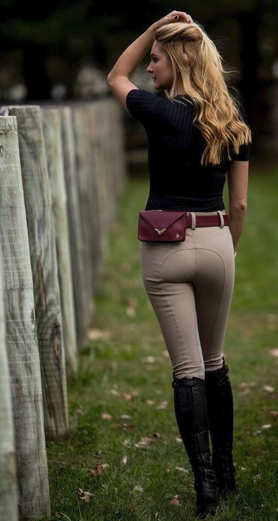 Equestrian fashion - breeches and