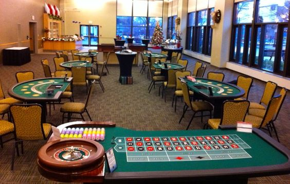 Arrange Casino Night