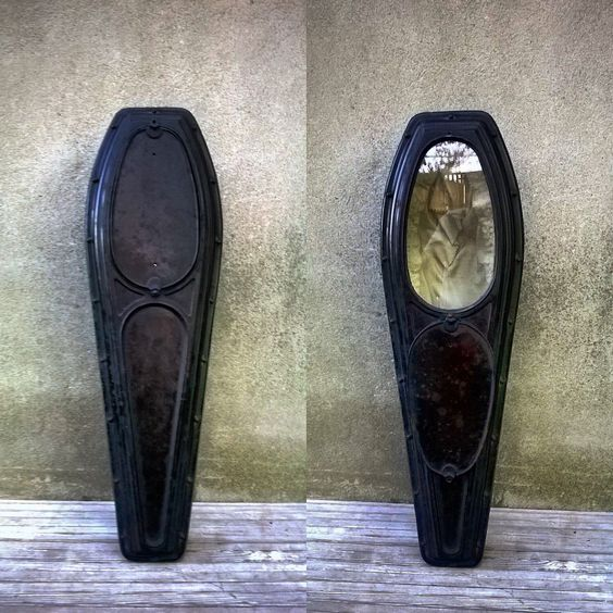 Antique Cast Iron Civil War Era Child Pinch Toe Viewing Casket by recoveredrelics on Etsy <a rel=nofollow href=