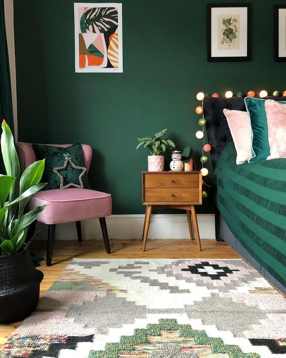 Filling a home (or a room or two) with dark paint colors isn't easy, but the striking, moody final look may make the risk worth it—and with these