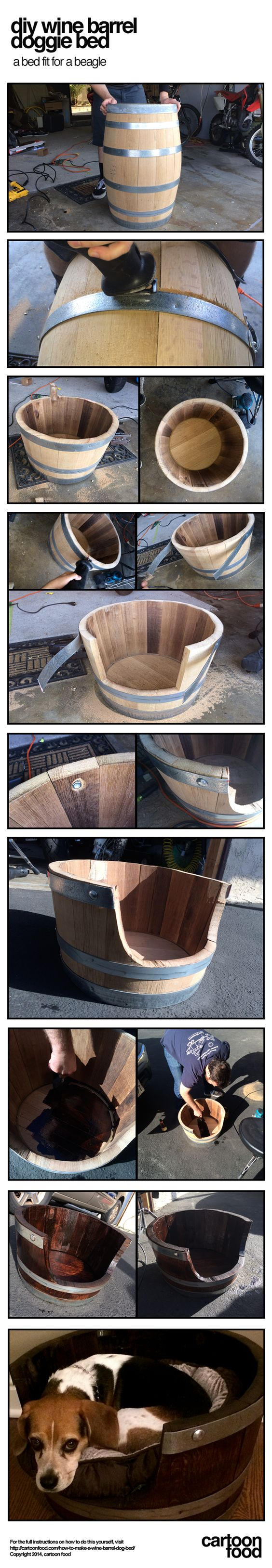 how to make a wine barrel