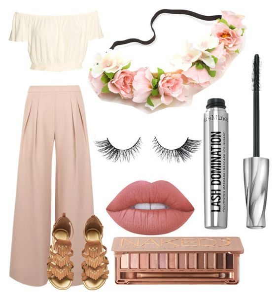 """""""Coachella/summer vibes"""" by josiemae426 on Polyvore featuring Antipodium, Lime Crime, Urban Decay and Bare Escentuals"""