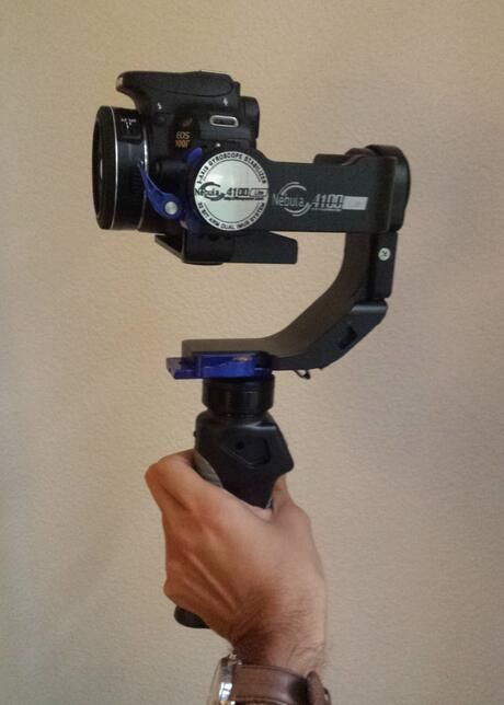 Holding the newest Filmpower Nebula! The Filmpower Nebula 4100 Lite 3-Axis Handheld Brushless Gimbal Stabilizer is now available for purchase.  Please send us a direct message to access the contact info for the nearest dealer near you.  Happy Filming everyone!  #mobile #drone #canon #nikon #gifts #steadycam #gimbal #stabilization #hdslr #gyroscope #balance #4Kshooters #joystick #remote #camera #cameras #photography #sony #photographer #filmography #filming #filmcrew #film #hdslrshooter…