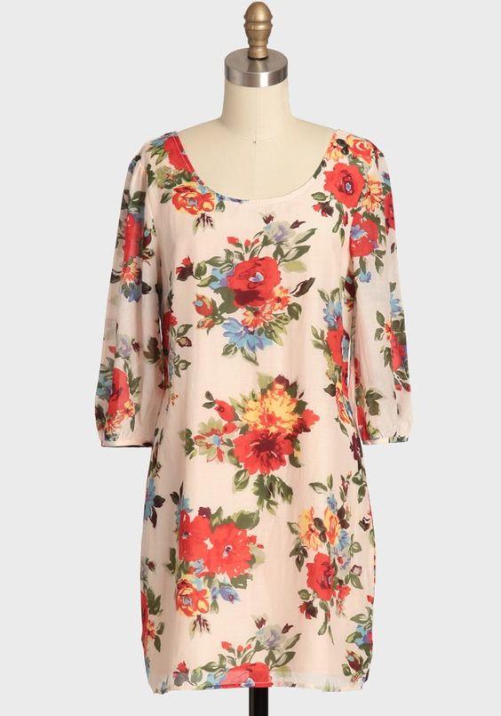 Floral Confection Dress By Tulle   Modern Vintage New Arrivals