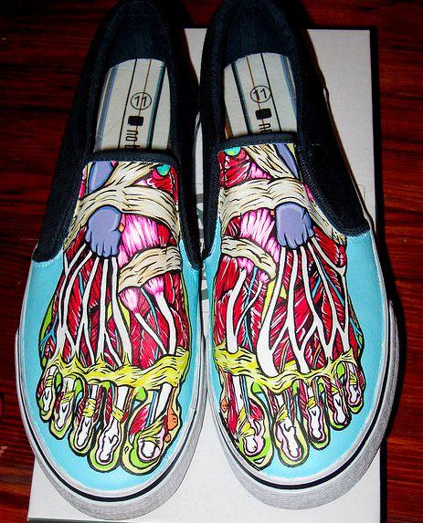 Zapatos Pintados, Zapas Freak, Alpargatas, Calzado, Vintage Zapatos, Imaginacion, Ropa Bonita, Zapatillas, Cosas Graciosas