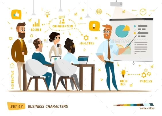 Business Characters Collection - Concepts Business