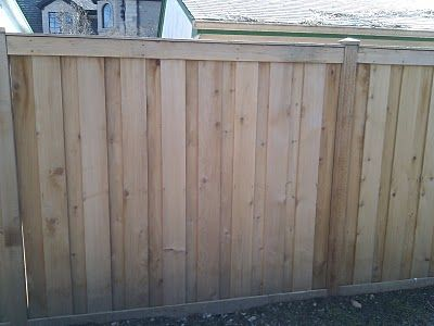 Board on batten fence is this close to a good neighbor for Good neighbor fence