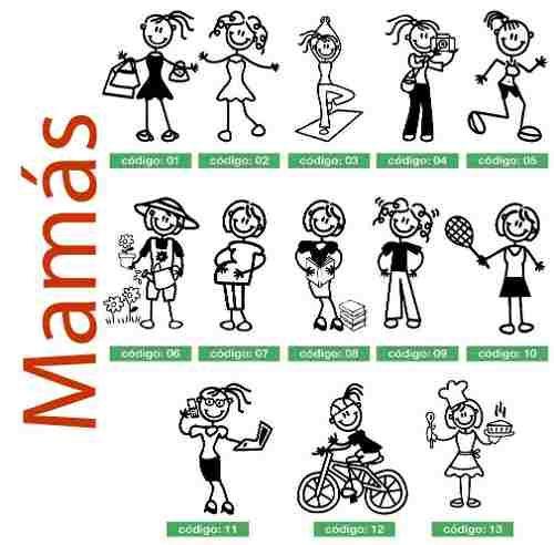 Resultado De Imagen Para Calcomanias Mama Familia Autos