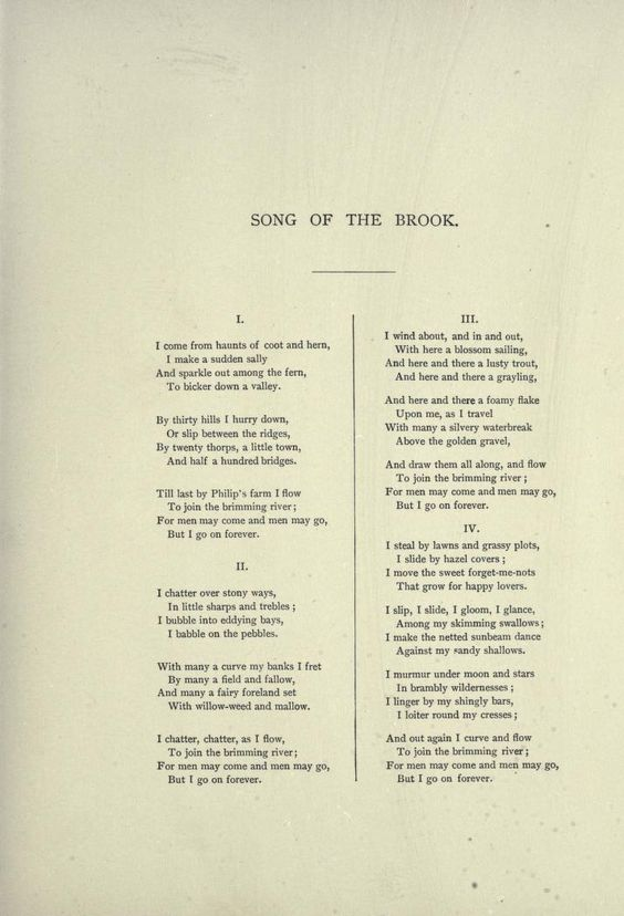 an analysis of the poem by lord tennyson Technical analysis of the eagle literary devices and the technique of alfred, lord tennyson.