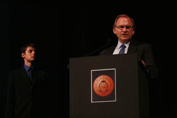 AG King speaks to full house at The KiMo for bystanders: Ending Bullying premier.