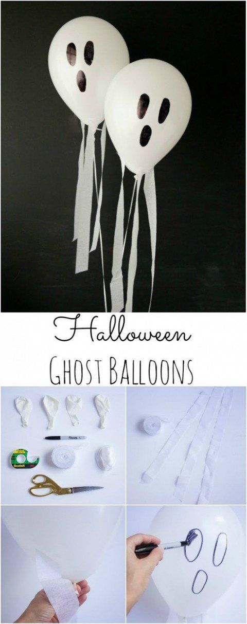 Easy to Make DIY Halloween Decorations