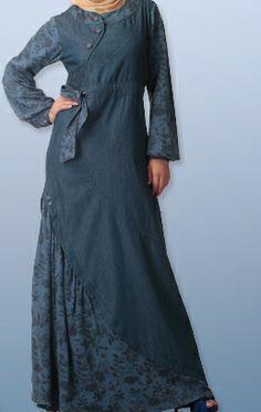 Denim Hijab Style