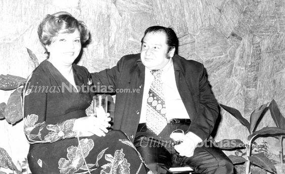Virgilio Trómpiz, pintor venezolano junto a su esposa, Blanca de Trómpiz. Foto Archivo Fotográfico/Grupo Últimas Noticias