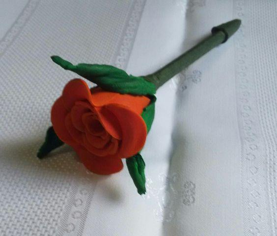 Rosa de E.V.A