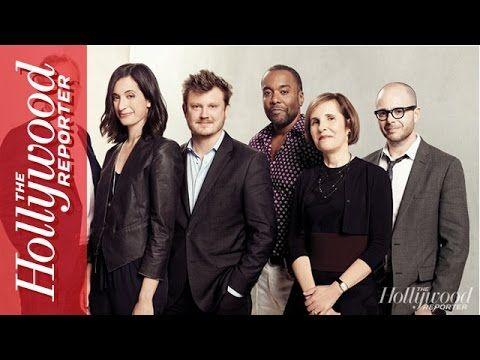 Michelle King e outros criadores de séries discutem suas expectativas e pontos de vista em uma mesa redonda.