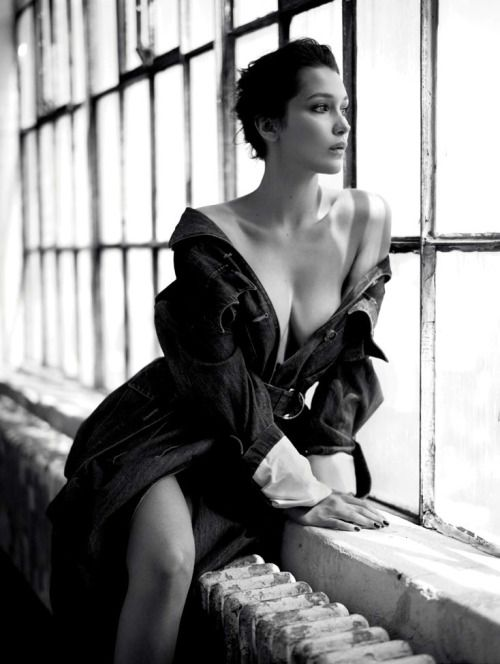 Bella Hadid by Mathieu Cesar #fashion #models #topmodels #nyc #streetstyle