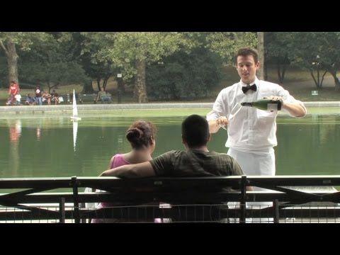 Improv Everywhere - Instant Date. @María Paz vamos a Central Park? quizás seamos los próximos afortunados