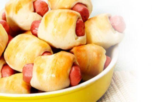 Enroladinhos de salsicha  Gastronomia e Receitas - Yahoo Mulher