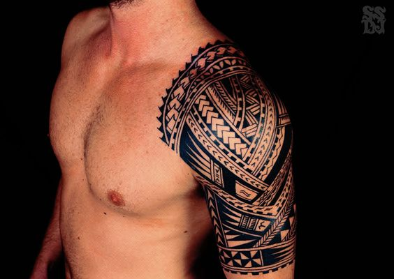 Half Sleeve Tattoo Cost: Shoulder Tribal Tattoos Cost