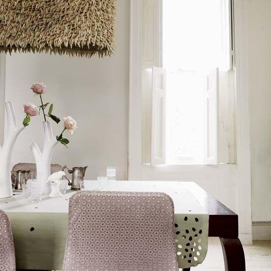 Light contemporary dining room
