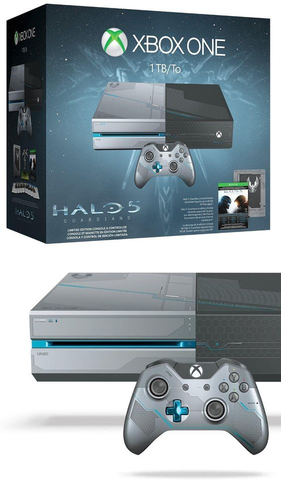 Video Gaming: Xbox One 1Tb Console Halo 5: Guardians Limited Edition Bundle New BUY IT NOW ONLY: $314.99 #priceabateVideoGaming OR #priceabate