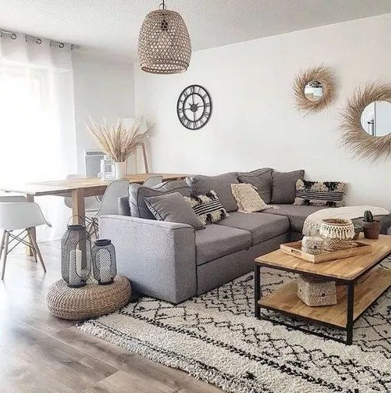 55 Simple And Modern Living Room Designs For Quiet People 15 Home Design Id Interior Design Living Room Warm Small Living Room Decor Living Room Decor Modern