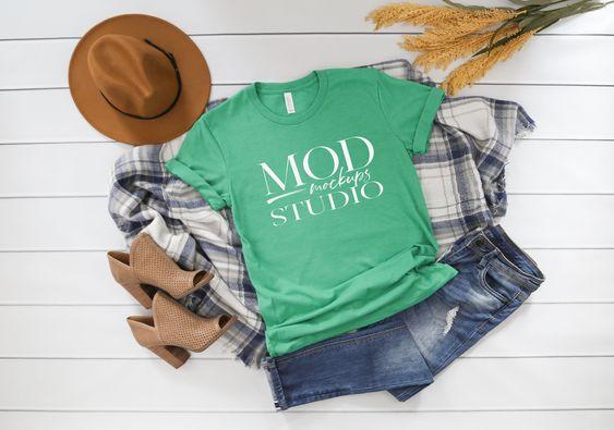 Digital Mockup Studio Mockup Tshirt Mockup Bella Canvas Mockup 3001 Lifestyle Mockup