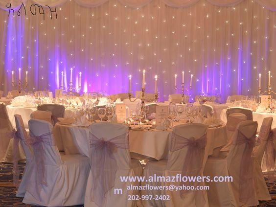 Almaz wedding decor best habesha eritrean ethiopian for Decoration company