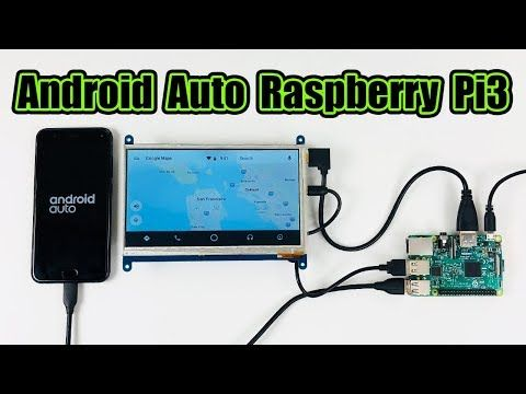 Android Auto Raspberry Pi 3 Crankshaft OpenAuto - YouTube