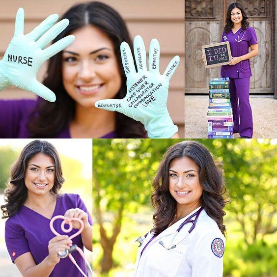 college graduation picture ideas for nurse - shoot Graduation from nursing school
