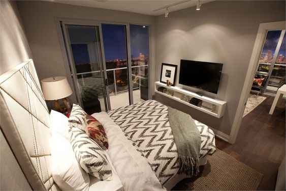 Bedroom styling for small spaces