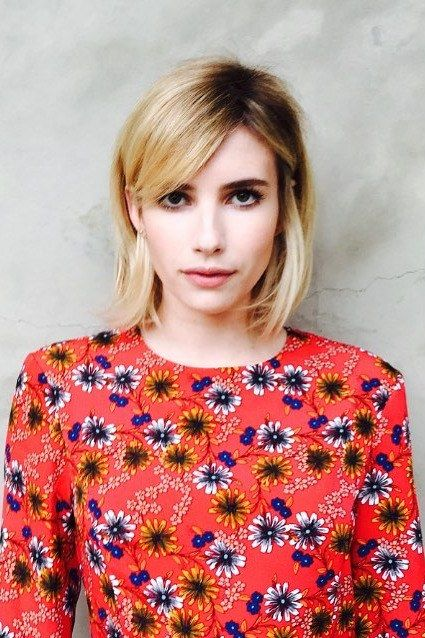 Emma Roberts Just Unveiled Her New Music Festival Hair Color