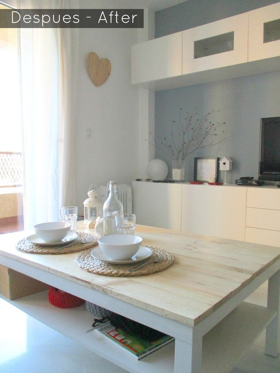 , Diseño y Muebles Antes y Despues Renovando mi mesa Lack de Ikea