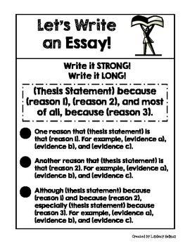 narrative essay handouts