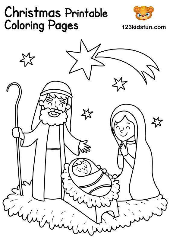 Free Christmas Printable 123 Kids Fun Apps Free Christmas Coloring Pages Printable Christmas Coloring Pages Christmas Coloring Printables