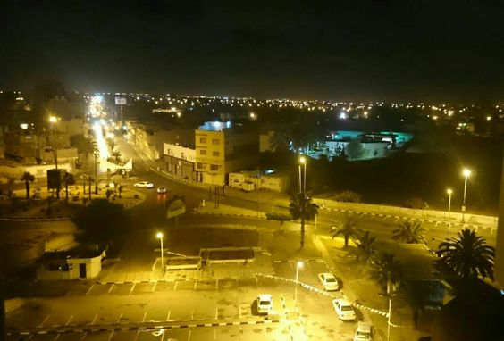 Misurata nights re very tranquil