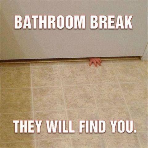 No escape 'til naptime!  #babytime #dadlife #momlife #parenting #toddlertime #babies #truedude