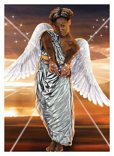 African American Angels | African American Angel 2 large cj
