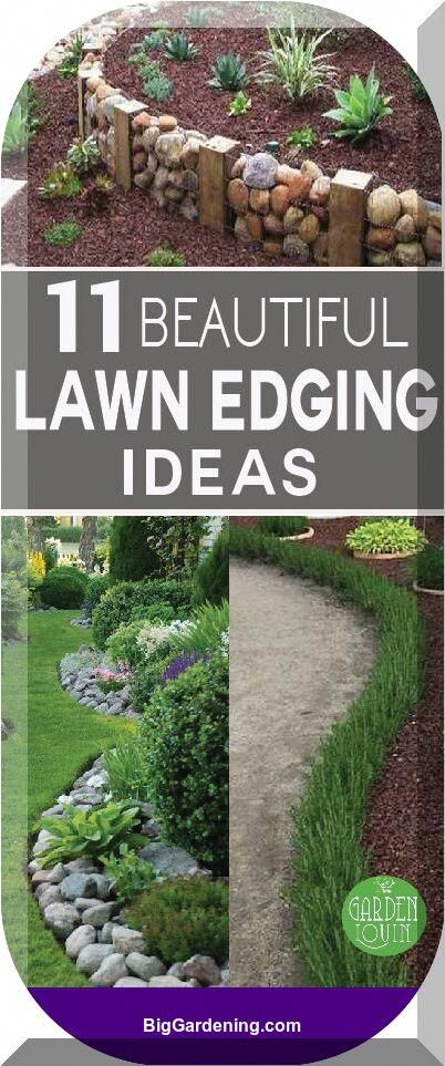 A Great Tidy Garden Edge Provides Your Landscape Meaning And
